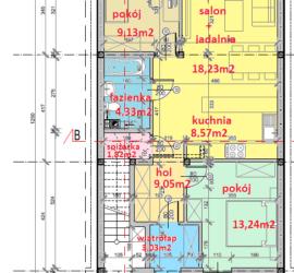 seg-B-parter - Tyczyn Osiedle Kościuszki Tyczyn szeregówki - mieszkania w szeregówkach