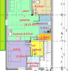 seg-A-parter Parter - Tyczyn Osiedle Kościuszki Tyczyn szeregówki - mieszkania w szeregówkach